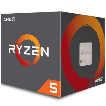 Processador AMD Ryzen 5 2600X 3.6 GHz 19MB Cache - AM4