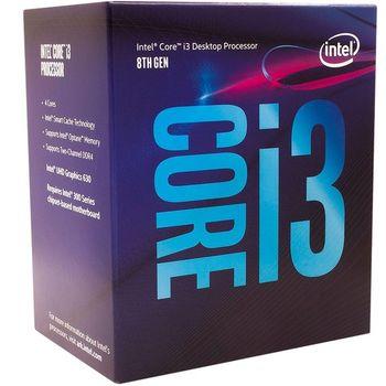 Processador Intel Core i3-8100 3.6 GHz 6MB Cache - LGA1151