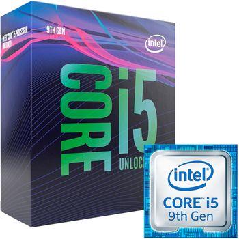 Processador Intel Core i5-9600K 3.7 GHz 9MB Cache - LGA115