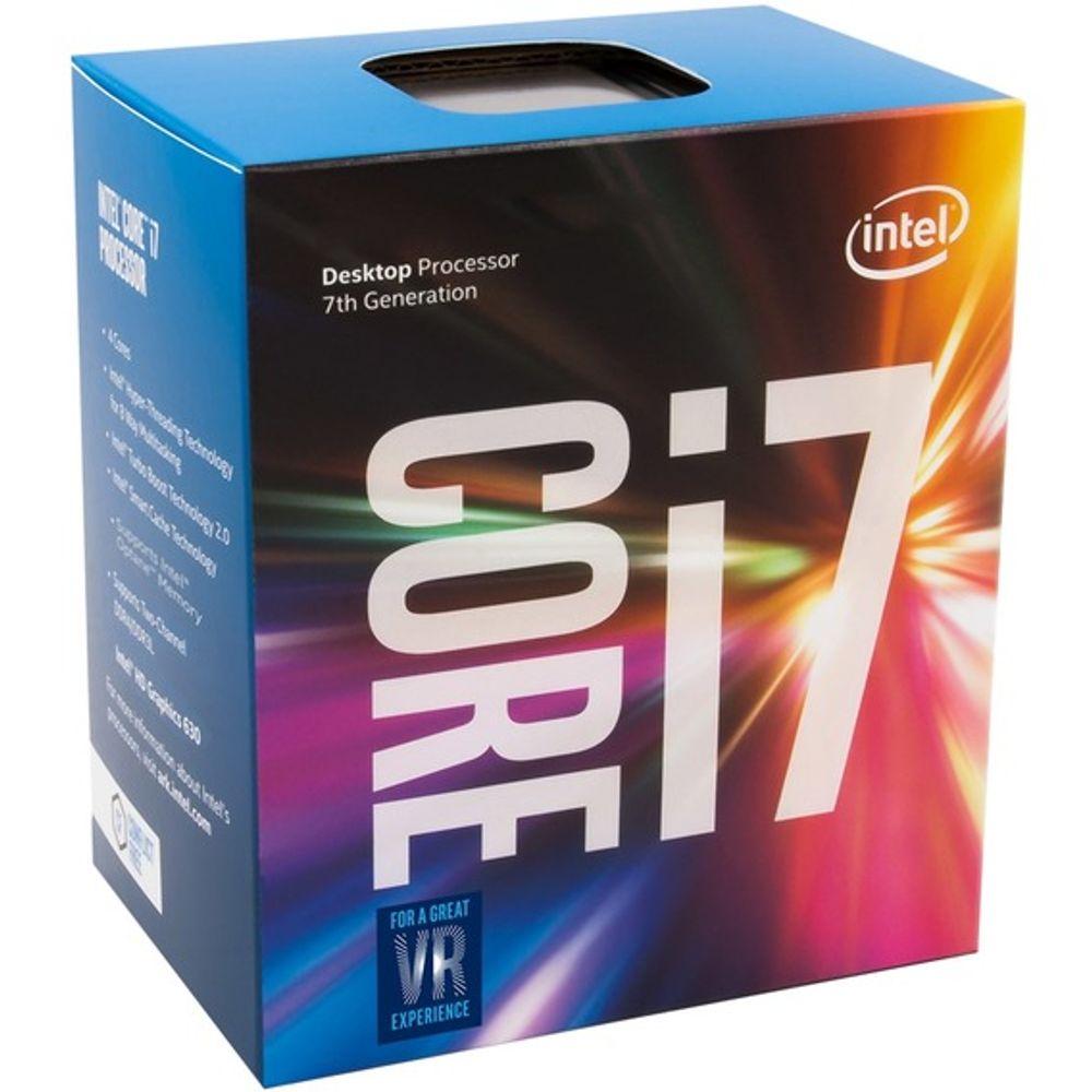 Processador Intel Core i7- 7700K 4.2 GHz 8MB Cache - LGA1151