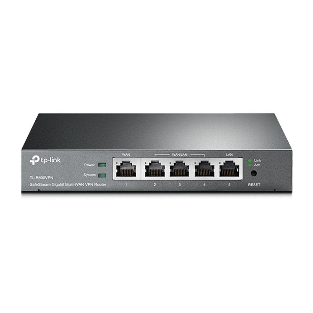 Roteador Gigabit Broadband VPN TP-Link - TL-R600VPN