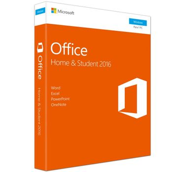 Software FPP Microsoft Office Home And Student 2016 Licença - 79G-04766