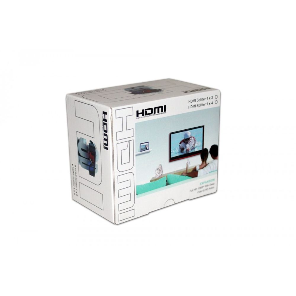 Splitter HDMI 4 Portas Full HD - HL-SP154005