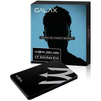 SSD Galax Gamer L 240GB Sata 3 - TIAA1D4M4BG49CNSBCYDXN