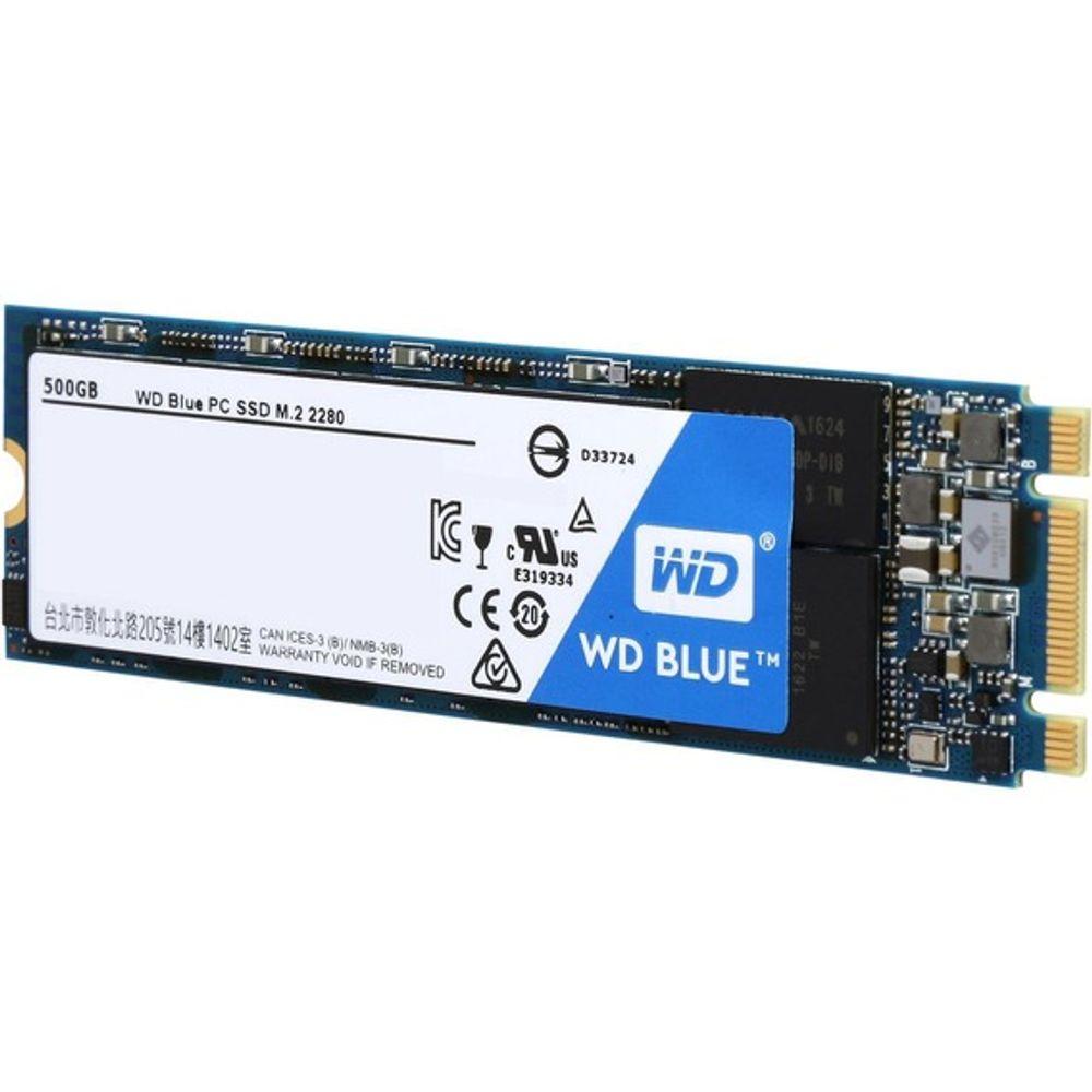 SSD Western Digital WD Blue 500GB Sata M.2 2280 - WDS500G1B0B