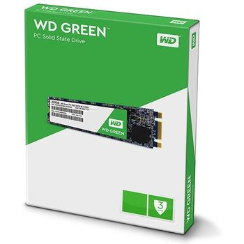 SSD Western Digital WD Green 120GB Sata M.2 2280 - WDS120G2G0B
