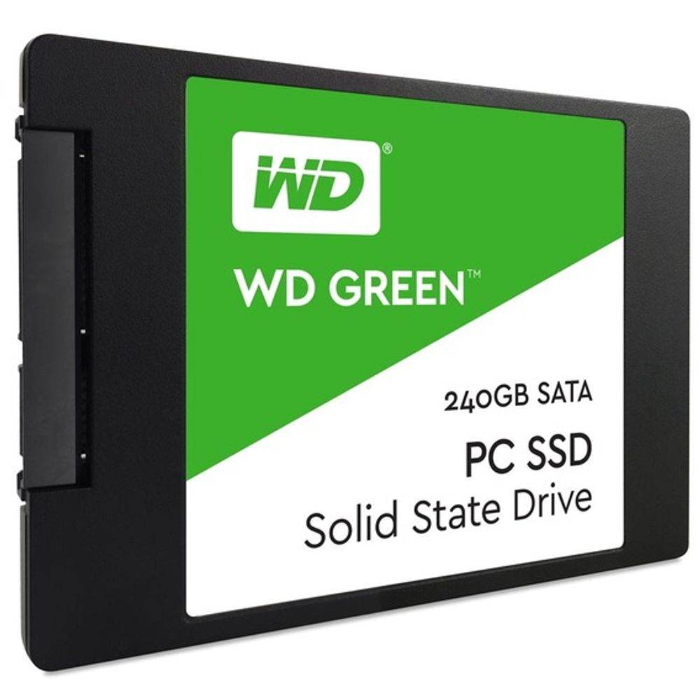 SSD Western Digital WD Green 240GB Sata 3 - WDS240G2G0A