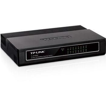 Switch Desktop 16 Portas TP-Link - TL-SF1016D Ver:6.0