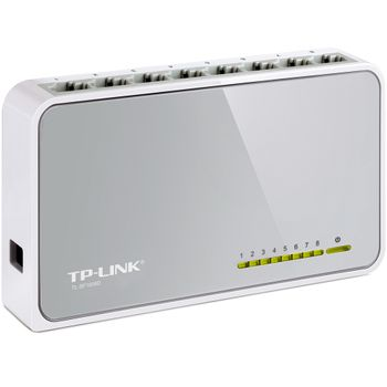 Switch Desktop 8 Portas TP-Link - TL-SF1008D Ver:9.0