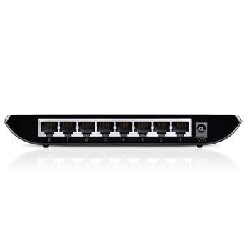 Switch Gigabit Desktop 8 Portas TP-Link - TL-SG1008D Ver:8.0