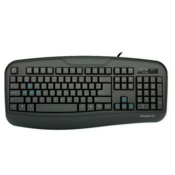 Teclado Gigabyte Gamer Force K3 Black - GK-FORCE-K3-BR