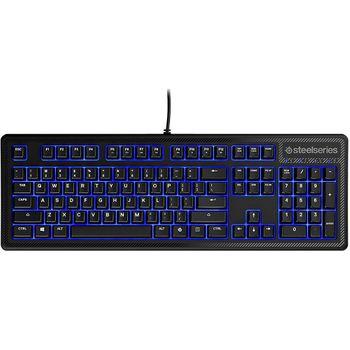 Teclado SteelSeries Gamer Apex 100 Blue LED - 64435