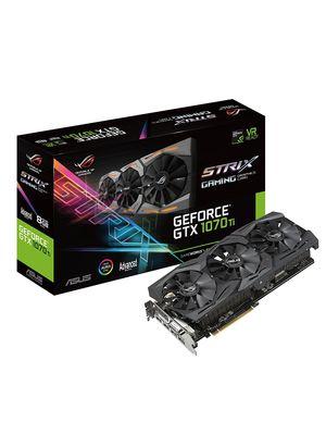 Placa de Video Asus GeForce GTX 1070 TI Strix ROG-STRIX-GTX1070TI-A8G-GAMING 8GB GDDR5 PCI-EXP