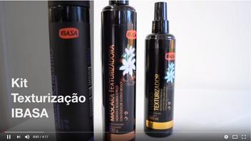 KIT TEXTURIZAÇÃO - Shampoo, Máscara de Tratamento e Fluido