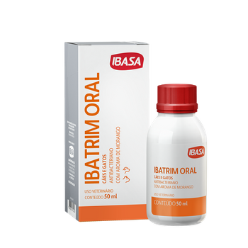Ibatrim Oral Cães e Gatos 50 ml
