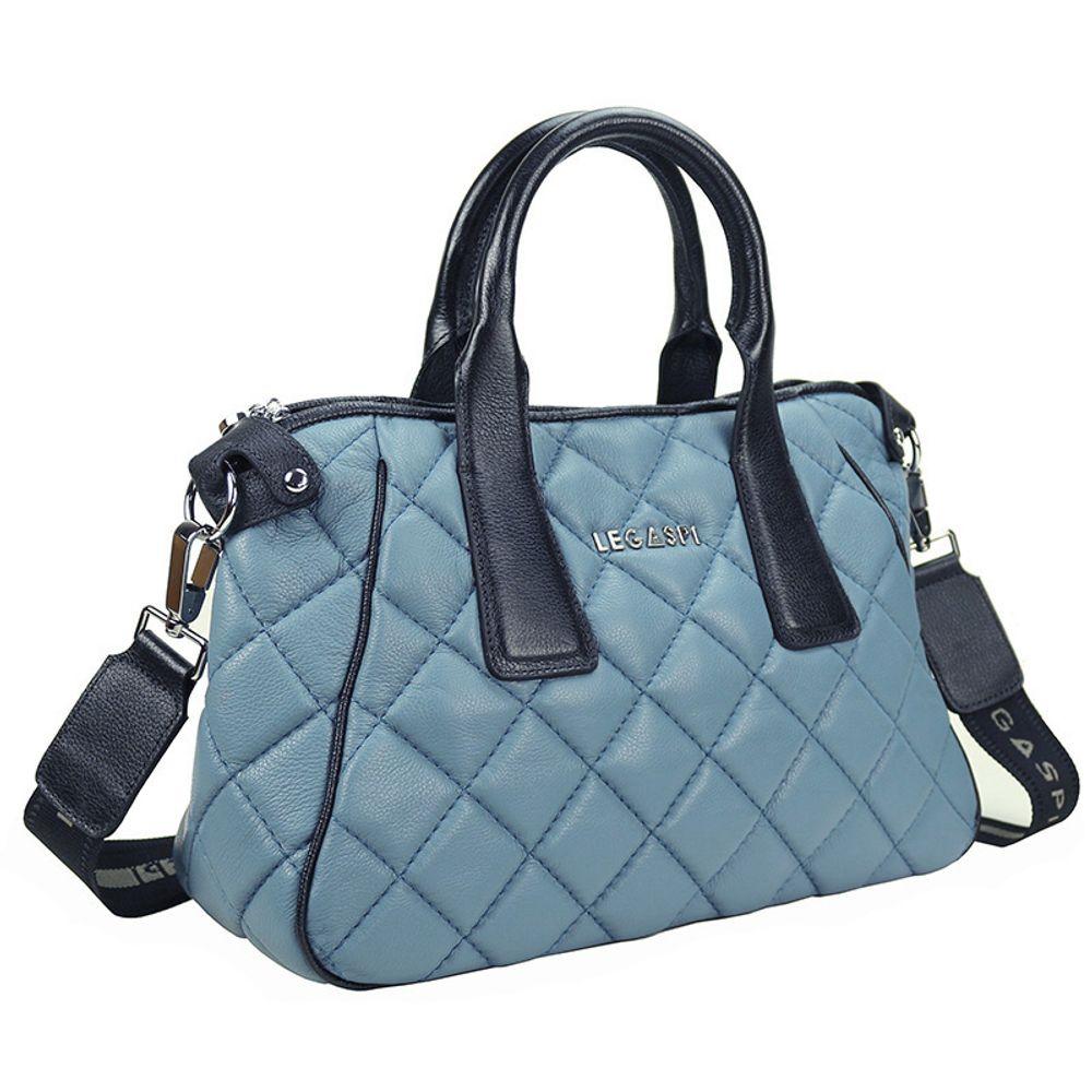 Bolsa de couro Alaina 10621