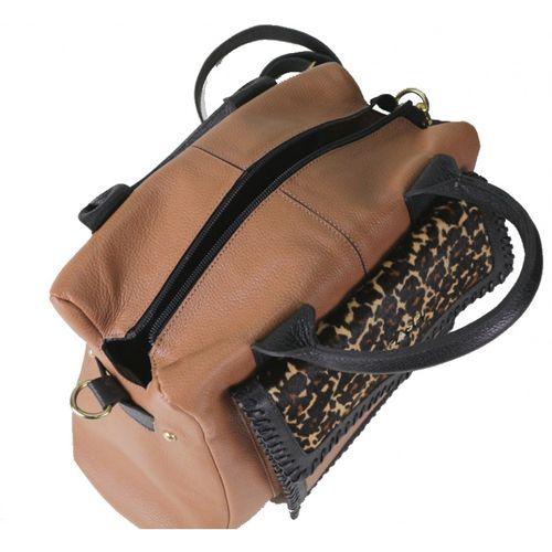 Bolsa de couro Ganesha 10520