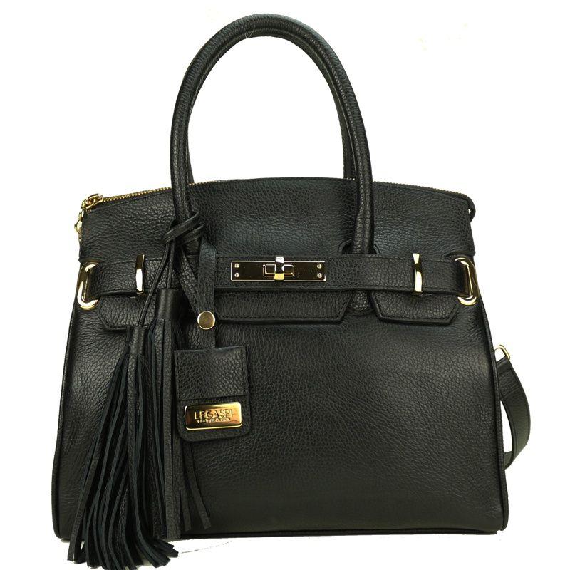 bolsa-sofisticada-de-couro-legitimo-preto
