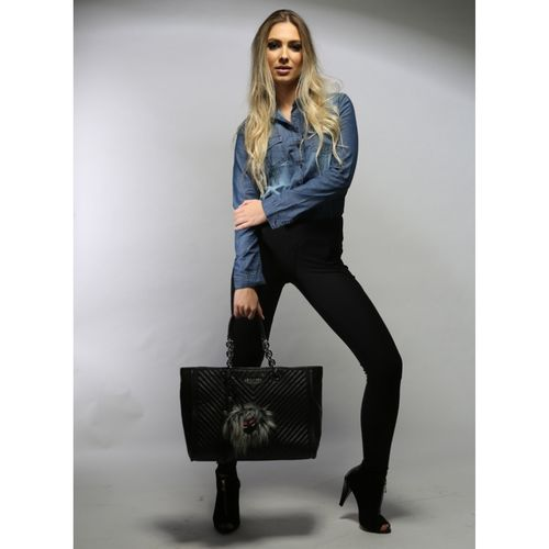 Shopping bag de couro Dy 10510