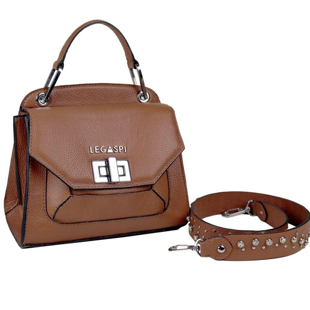 Bolsa de couro Lara 10532