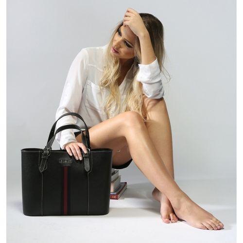 Shopping bag de couro Rhianna 10517