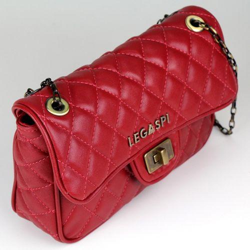 Bolsa de couro Papoula 10459