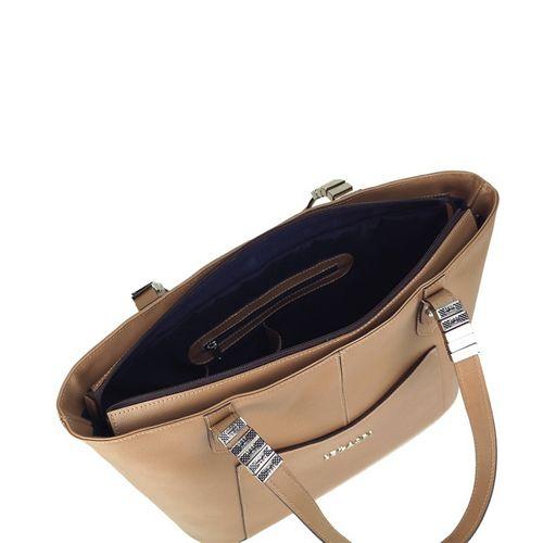 Shopping bag em couro Rita 10583