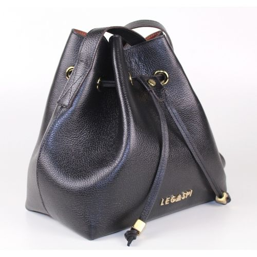 Bolsa saco de couro Pretty 291