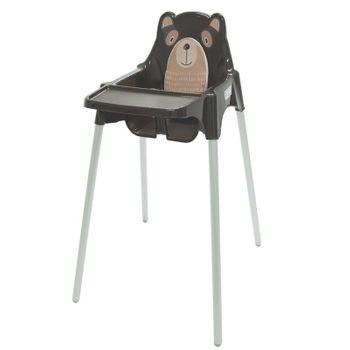 Cadeira Refeicao Teddy Marrom Tramontina