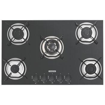 Cooktop em Vidro Temperado Com 5 Queimadores 5Gg Tri 70 Standard Tramontina