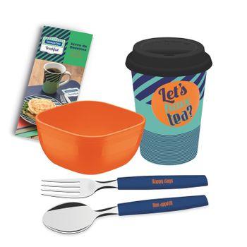 Kit Para Café da Manhã 4 Peças Breakfast Tramontina