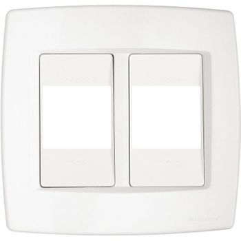 Placa 4X4 2 Mod/meio Trii Bran Tramontina