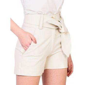 Short Cintura Alta com Cinto - Mila +
