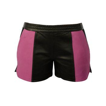 Shorts Sport com Recortes em Outra cor - Mila +