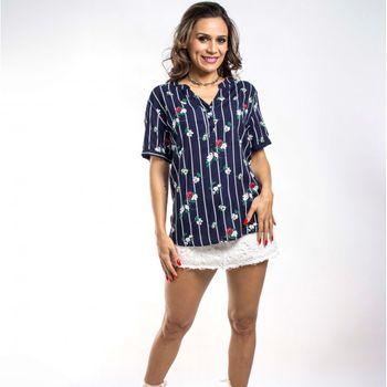 Camisa Floral Listrada 029VF17