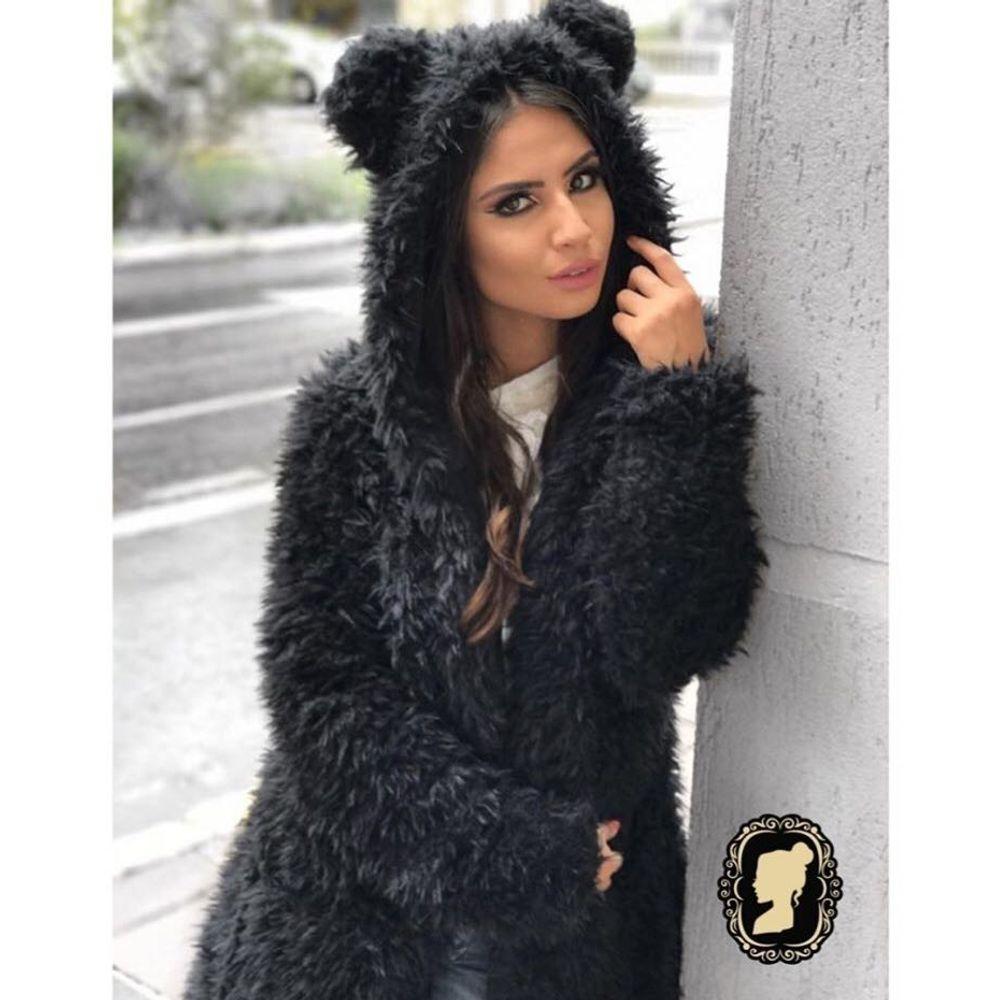 Casaco Urso Fofo 010IF17