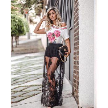 Saia C Short + Renda Micheli Fernandes 062VF17