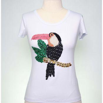 T-shirt Bordada Asor Tucano 045VF17