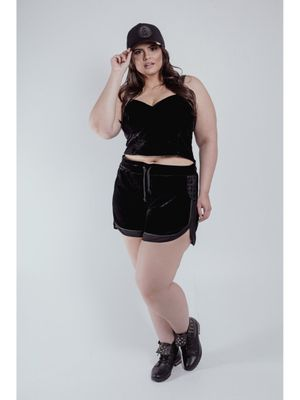 CROPPED ALÇA PLUS SIZE REIZZ