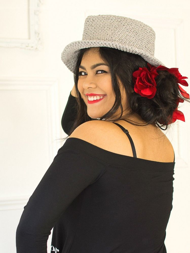 Chapéu Crochet Boho